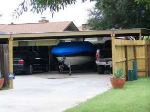 Attached Carport North San Antonio