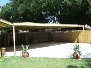 Attached Carport North San Antonio