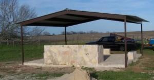 Gabled Pavilion Atascosa County Charolette Texas