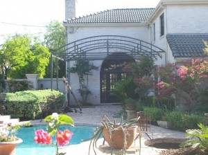Steel Patio Cover Curved Custom Arched Awning Castle Hills