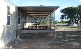 Ranch Trailer Patio Cover Deck