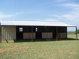 Kerrville, Texas Steel Addition to Barn and Awning