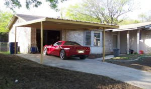 Single Car Carport Northside San Antonio