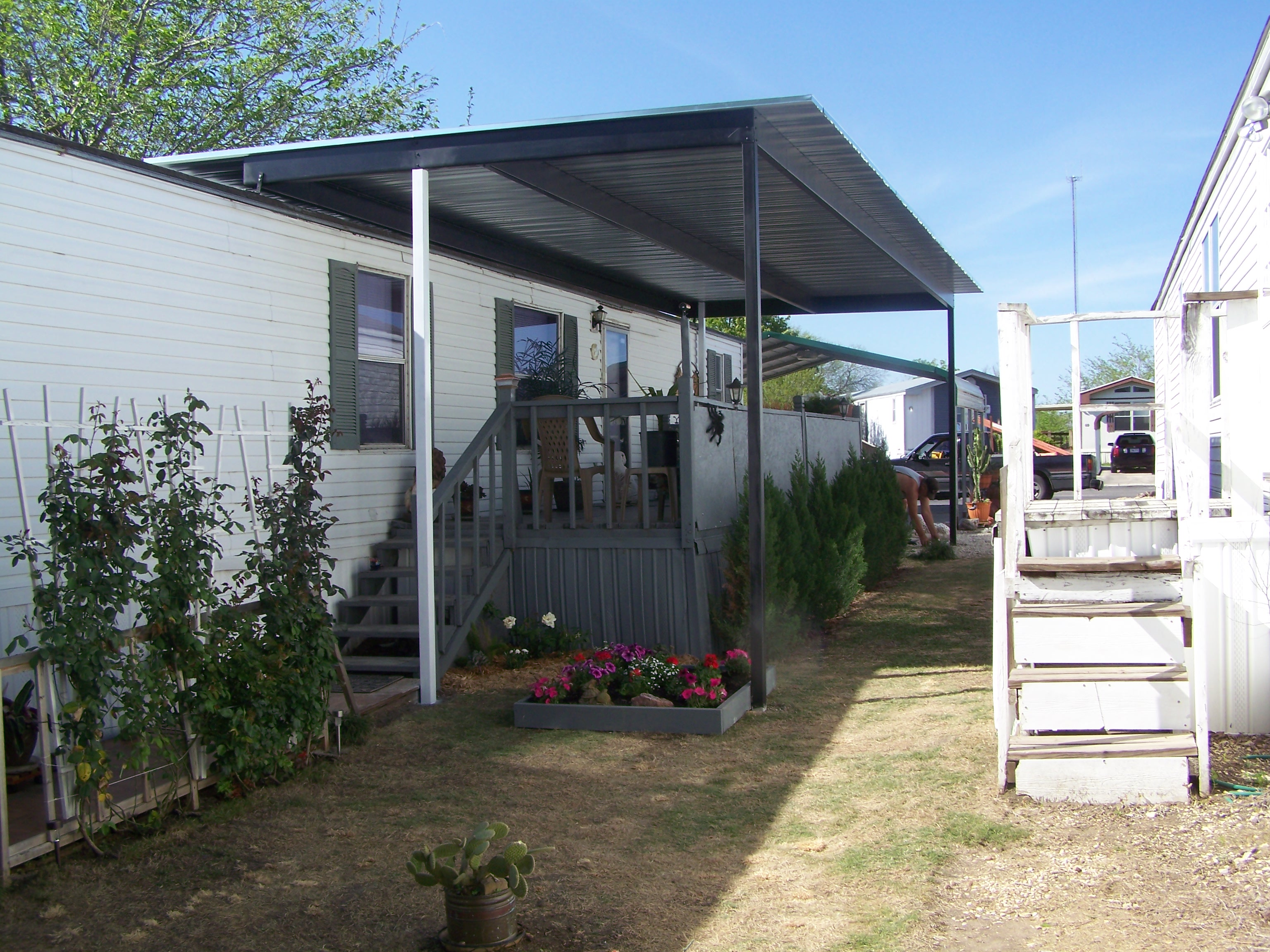 Custom Patio Cover for Mobile Home Windcrest Texas ...