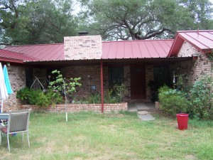 Pleasanton, Texas Attached All Steep Porch Awning