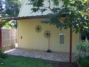 North side San Antonio Attached Steel Home Awning
