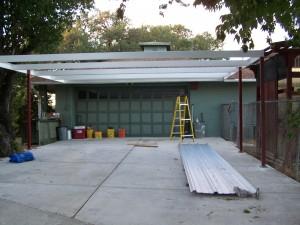Simple Lean to Carport 21'x22' San Antonio, Texas