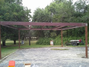 20 x 20 carport  free standing (7)
