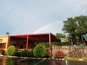 Sandra's Cantina rainbow
