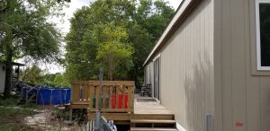 Small Deck and Patio Cover Wilson County