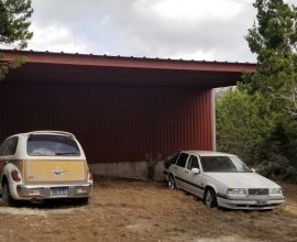 30′ x 20′ Carport Kendalia, Texas